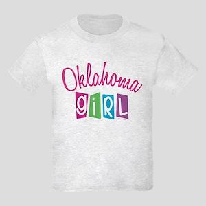 OKLAHOMA GIRL! Kids Light T-Shirt
