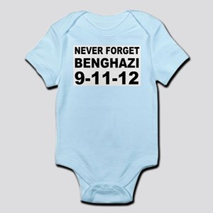 Benghazi Never Forget Infant Bodysuit