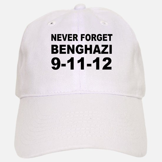 Benghazi Never Forget Baseball Baseball Cap