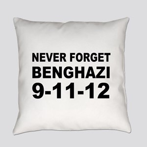 Benghazi Never Forget Everyday Pillow