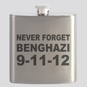 Benghazi Never Forget Flask