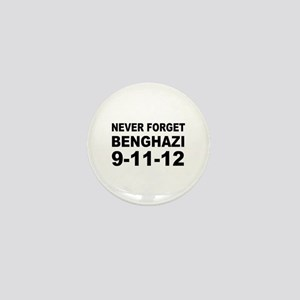 Benghazi Never Forget Mini Button