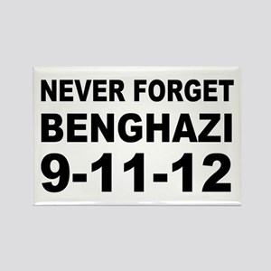 Benghazi Never Forget Rectangle Magnet