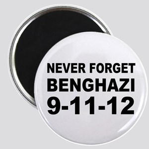 Benghazi Never Forget Magnet