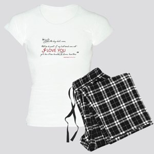 Last Words Outlander Women's Light Pajamas