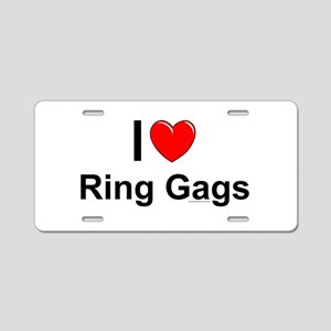 Ring Gags Aluminum License Plate