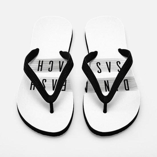 Dinna Fash Sassenach Flip Flops