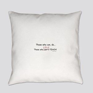 TEACHERS CARE! Everyday Pillow