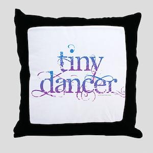 Tiny Dancer Throw Pillow