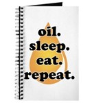 oil.sleep.eat.repeat Journal