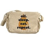 oil.sleep.eat.repeat Messenger Bag