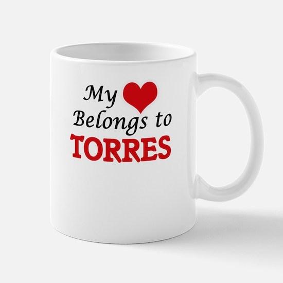My Heart belongs to Torres Mugs