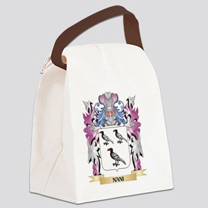 Nani Coat of Arms - Family Crest Canvas Lunch Bag