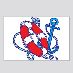 Lifeline and Anchor Postcards (Package of 8)