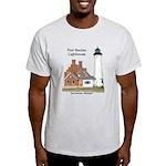 Port Sanilac Lighthouse 2015 Light T-Shirt
