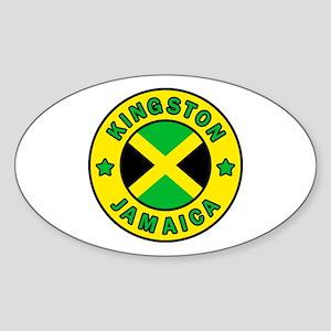 Kingston Jamaica Sticker