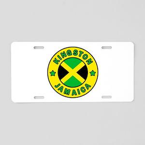 Kingston Jamaica Aluminum License Plate