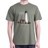 Lighthouses Mens Classic Dark T-Shirts