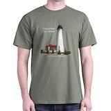 Lighthouses Mens Classic Dark T-Shirts