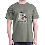 Sand Point Lighthouse Dark T-Shirt