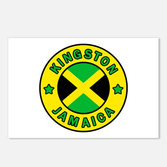 Kingston Jamaica Postcards (Package of 8)