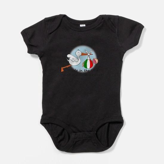 Cute Italian baby shower Baby Bodysuit