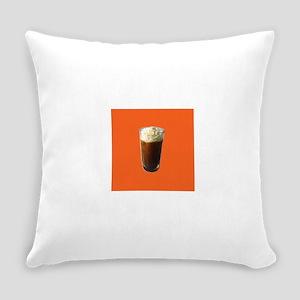 Iced Coffee Whipped Cream Miranda' Everyday Pillow