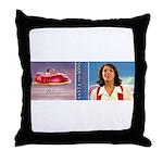Blaise Anti-gravity Sleigh Mug Throw Pillow