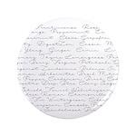 Essential Oil Handwritten Button