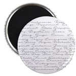 Essential Oil Handwritten Magnet