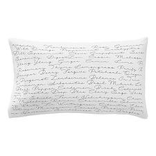 Essential Oil Handwritten Pillow Case