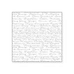 Essential Oil Handwritten Square Sticker 3