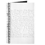 Essential Oil Handwritten Journal