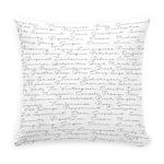 Essential Oil Handwritten Everyday Pillow