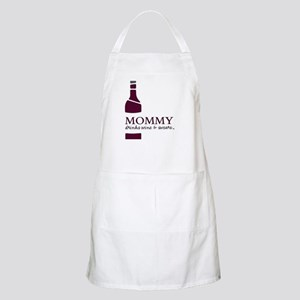 Mommy Drinks Wine And Swears Apron