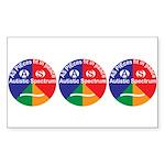 Aspie Logo Sticker