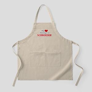 My Heart belongs to Schroeder Apron