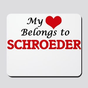 My Heart belongs to Schroeder Mousepad