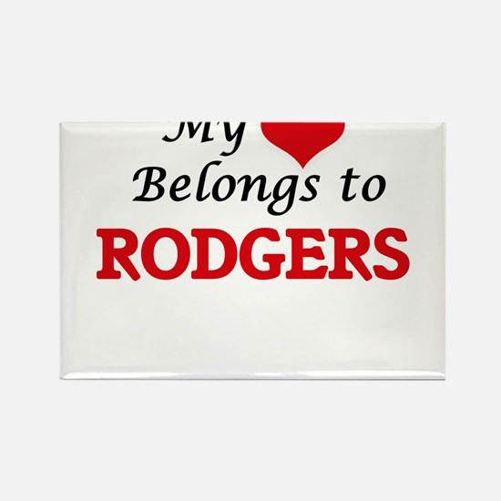 My Heart belongs to Rodgers Magnets