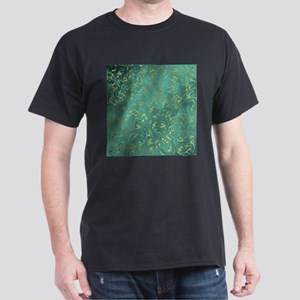 golden notes in petrol T-Shirt