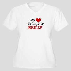 My Heart belongs to Reilly Plus Size T-Shirt