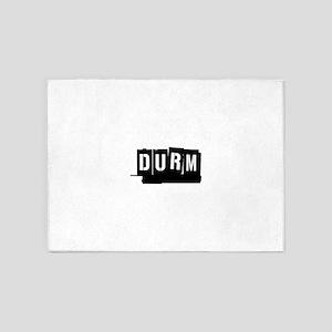 RENT DURM 5'x7'Area Rug