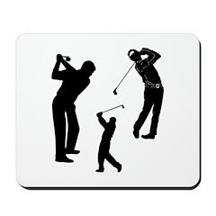 Golf Club Mousepad