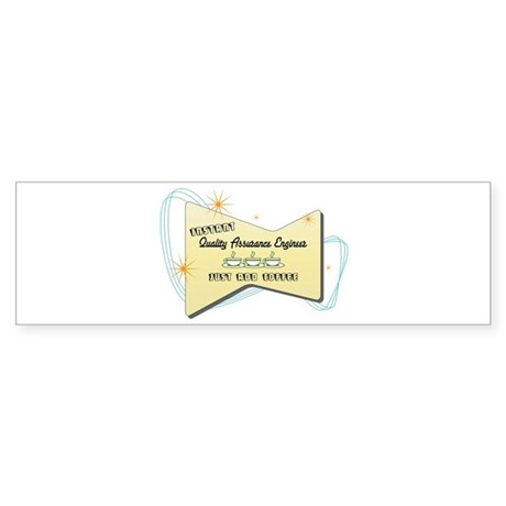 Instant Quality Assurance Engineer Sticker (Bumper