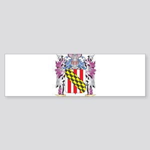 Nelson Coat of Arms - Family Crest Bumper Sticker