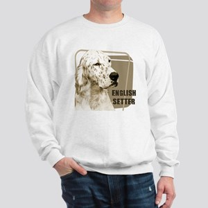 English Setter Vintage Sweatshirt