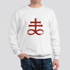 Pontifical Cross of Satan Sweatshirt