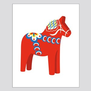 Swedish Dala Horse Posters