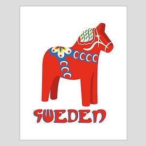 Sweden Dala Horse Posters