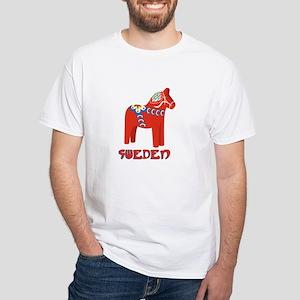 Sweden Dala Horse T-Shirt